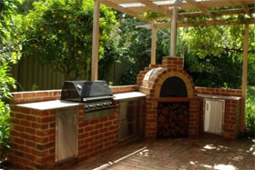 Outdoor Brick Oven Great For Pizza Breads And Meats